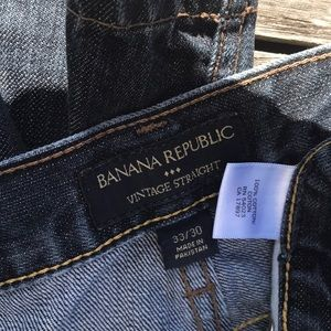 Banana Republic Jeans - Banana Republic Vintage Straight Jeans 33/30